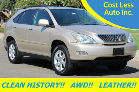 2008 Lexus RX 350 for sale at Cost Less Auto Inc. in Rocklin CA