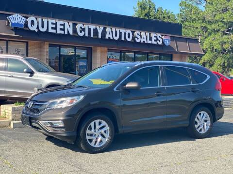 2015 Honda CR-V for sale at Queen City Auto Sales in Charlotte NC