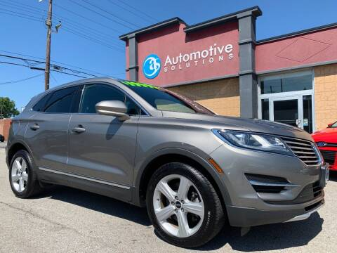 2016 Lincoln MKC for sale at Automotive Solutions in Louisville KY
