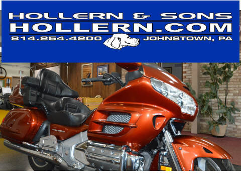 2007 Honda GL18HPNA7 GLDWNGABS 6 CYL EFI for sale at Hollern & Sons Auto Sales in Johnstown PA