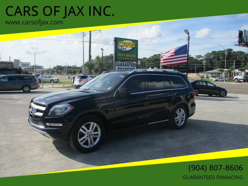 2013 Mercedes-Benz GL-Class for sale at CARS OF JAX INC. in Jacksonville FL