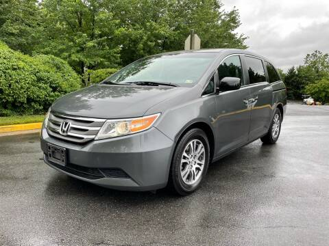 2012 Honda Odyssey for sale at Dreams Auto Group LLC in Sterling VA