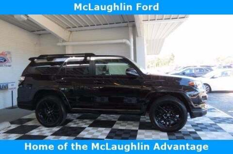 2019 Toyota 4Runner for sale at McLaughlin Ford in Sumter SC