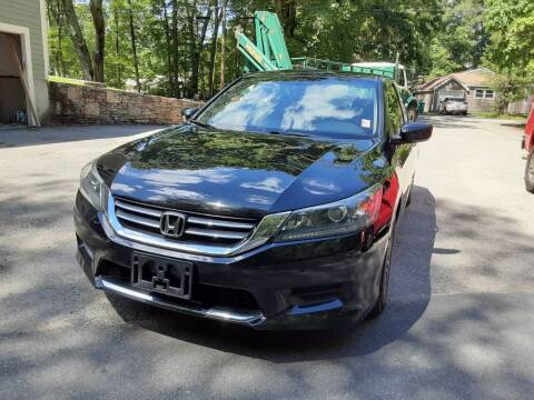2015 Honda Accord for sale at Cappy's Automotive in Whitinsville MA
