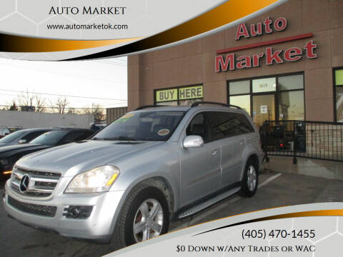 2008 Mercedes-Benz GL-Class for sale at Auto Market in Oklahoma City OK