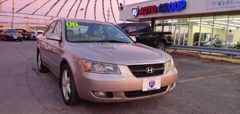 2006 Hyundai Sonata for sale at I-80 Auto Sales in Hazel Crest IL