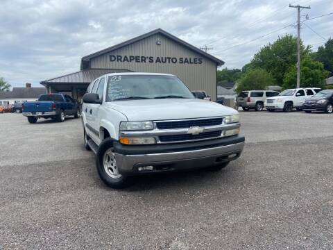 2003 Chevrolet Suburban for sale at Drapers Auto Sales in Peru IN