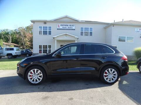2011 Porsche Cayenne for sale at SOUTHERN SELECT AUTO SALES in Medina OH