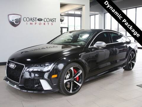 2015 Audi RS 7 for sale at Coast to Coast Imports in Fishers IN