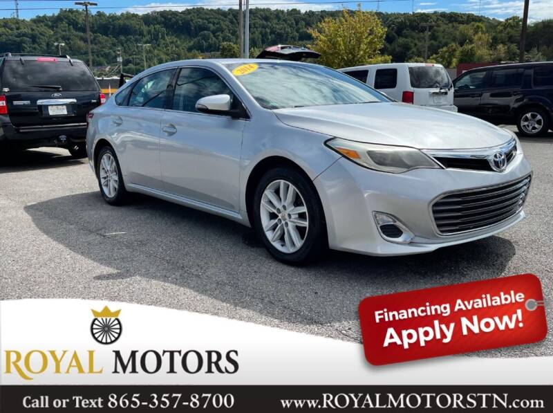 2014 Toyota Avalon for sale at ROYAL MOTORS LLC in Knoxville TN