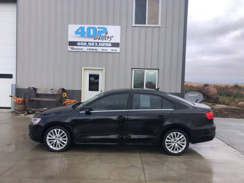 2013 Volkswagen Jetta for sale at 402 Autos in Lindsay NE