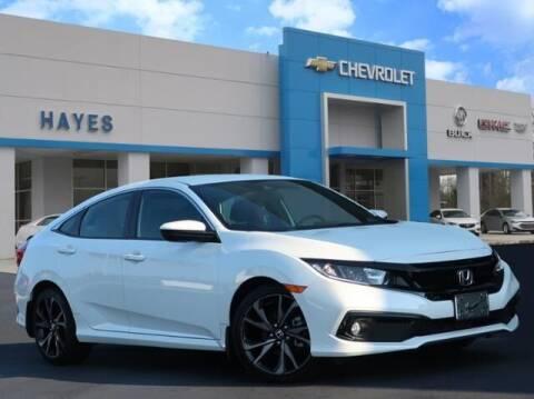 2019 Honda Civic for sale at HAYES CHEVROLET Buick GMC Cadillac Inc in Alto GA