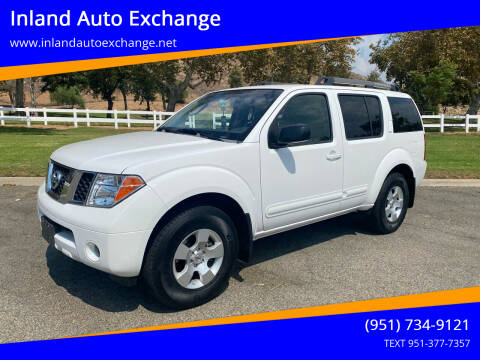 2007 Nissan Pathfinder for sale at Inland Auto Exchange in Norco CA