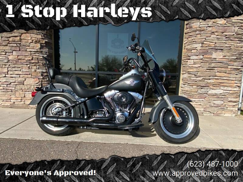 2012 Harley Davidson Fatboy for sale at 1 Stop Harleys in Peoria AZ