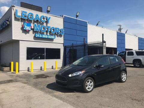2014 Ford Fiesta for sale at Legacy Motors in Detroit MI
