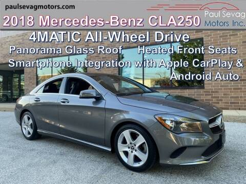 2018 Mercedes-Benz CLA for sale at Paul Sevag Motors Inc in West Chester PA