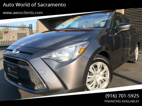 2019 Toyota Yaris for sale at Auto World of Sacramento Stockton Blvd in Sacramento CA