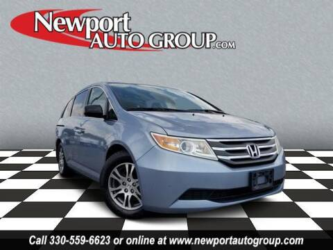 2013 Honda Odyssey for sale at Newport Auto Group in Austintown OH