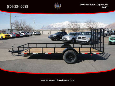 2021 K&S FABRICATION FLATBED TRAILER for sale at S S Auto Brokers in Ogden UT