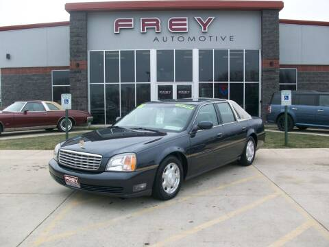 2001 Cadillac DeVille for sale at Frey Automotive in Muskego WI