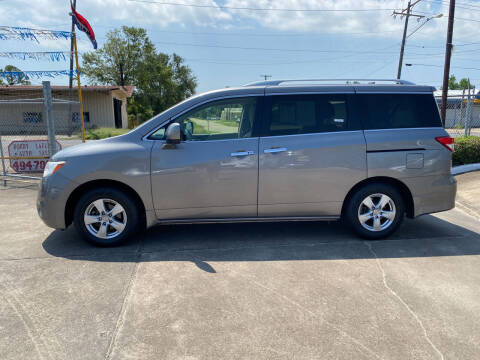 2013 Nissan Quest for sale at Bobby Lafleur Auto Sales in Lake Charles LA