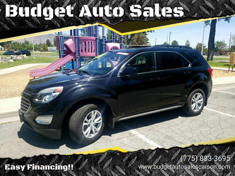 2016 Chevrolet Equinox for sale at Budget Auto Sales in Carson City NV