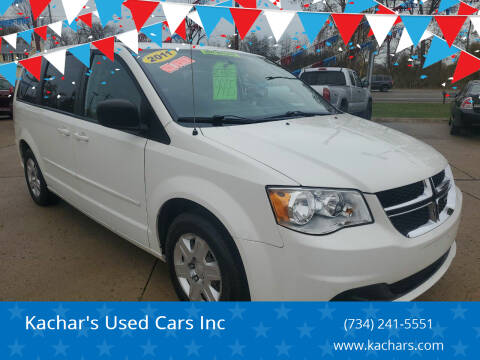 2011 Dodge Grand Caravan for sale at Kachar's Used Cars Inc in Monroe MI