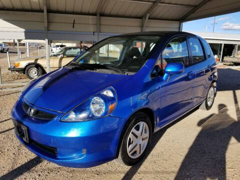 2008 Honda Fit for sale at QUALITY MOTOR COMPANY in Portales NM