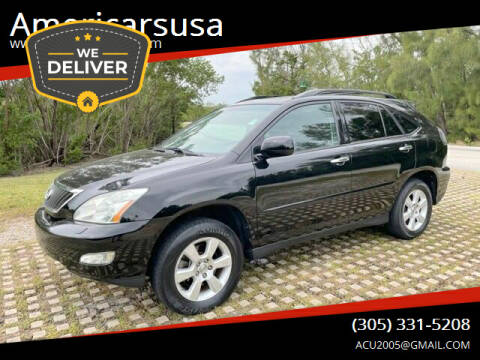 2009 Lexus RX 350 for sale at Americarsusa in Hollywood FL