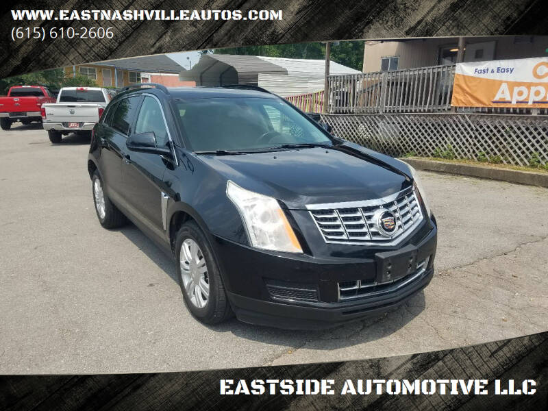 2015 Cadillac SRX for sale at EASTSIDE AUTOMOTIVE LLC in Nashville TN