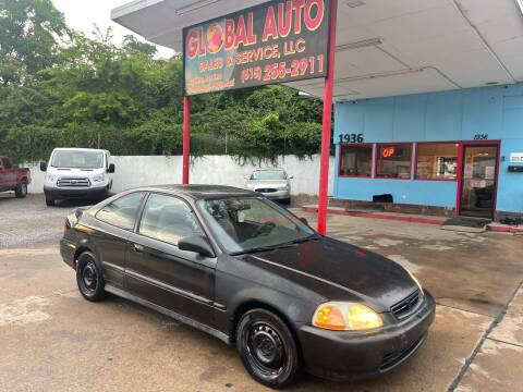 1997 Honda Civic for sale at Global Auto Sales and Service in Nashville TN