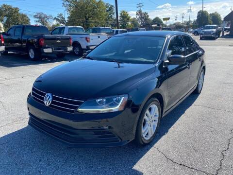 2017 Volkswagen Jetta for sale at Brewster Used Cars in Anderson SC