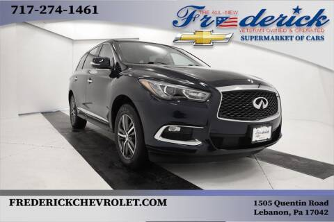 2017 Infiniti QX60 for sale at Lancaster Pre-Owned in Lancaster PA