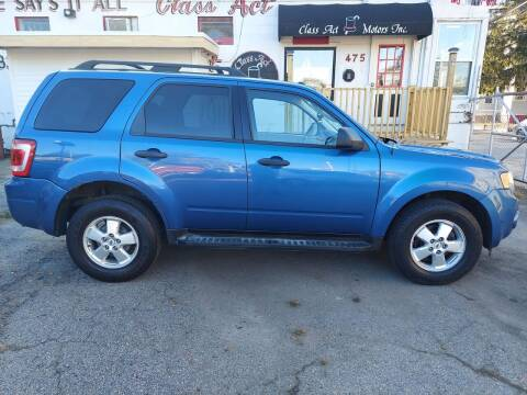 2010 Ford Escape for sale at Class Act Motors Inc in Providence RI