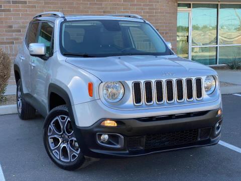 2016 Jeep Renegade for sale at AKOI Motors in Tempe AZ