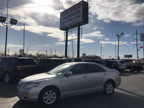 2007 Toyota Camry for sale at United Auto Sales in Oklahoma City OK