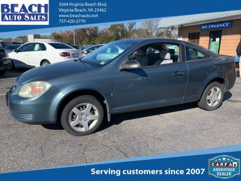 2007 Chevrolet Cobalt for sale at Beach Auto Sales in Virginia Beach VA