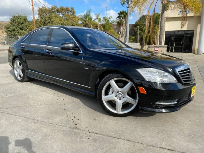 2012 Mercedes-Benz S-Class for sale at Luxury Auto Lounge in Costa Mesa CA
