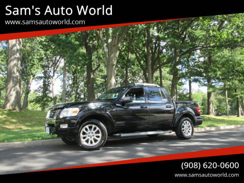 2007 Ford Explorer Sport Trac for sale at Sam's Auto World in Roselle NJ