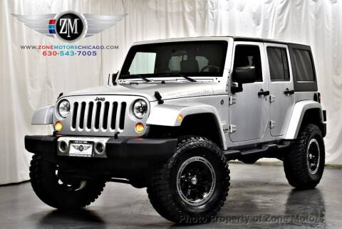 2008 Jeep Wrangler Unlimited for sale at ZONE MOTORS in Addison IL