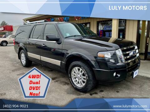 2013 Ford Expedition EL for sale at Luly Motors in Lincoln NE