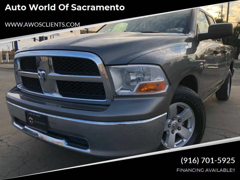 2009 Dodge Ram Pickup 1500 for sale at Auto World of Sacramento Stockton Blvd in Sacramento CA