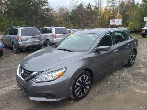 2018 Nissan Altima for sale at B & B GARAGE LLC in Catskill NY