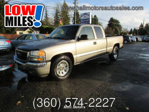 2006 GMC Sierra 1500 for sale at Hall Motors LLC in Vancouver WA