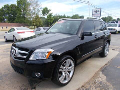 2012 Mercedes-Benz GLK for sale at High Country Motors in Mountain Home AR