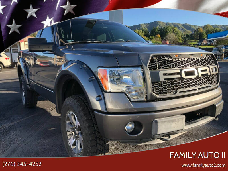 2013 Ford F-150 for sale at FAMILY AUTO II in Pounding Mill VA