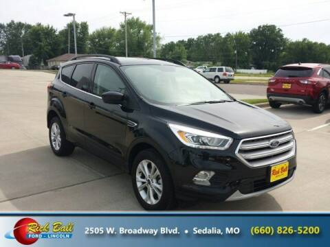 2019 Ford Escape for sale at RICK BALL FORD in Sedalia MO