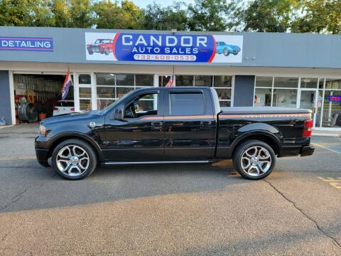 2008 Ford F-150 for sale at CANDOR INC in Toms River NJ