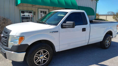 2014 Ford F-150 for sale at Haigler Motors Inc in Tyler TX
