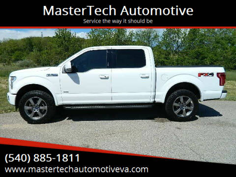 2017 Ford F-150 for sale at MasterTech Automotive in Staunton VA